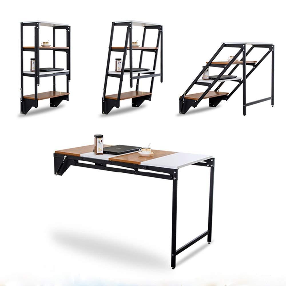 ZXQZ fällbart bord, multifunktionellt osynligt väggmonterad fällbart matbord skrivbord liten lägenhet fällbart bord tebord (färg: Stil6) Stil6