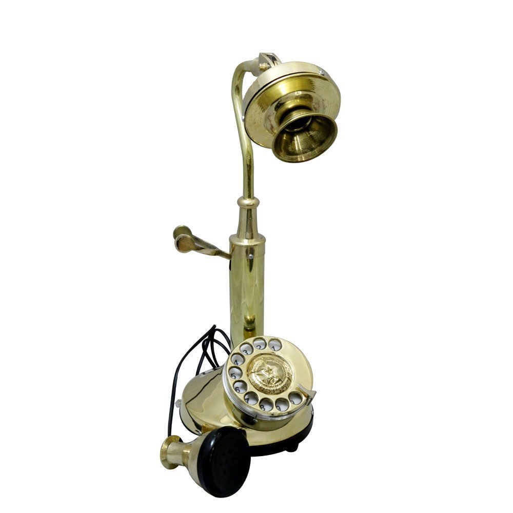 d2580dd4660 Full Brass Metal Land Line Phone of Shawor Shave  Amazon.ca  Home   Kitchen