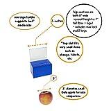 Ultra-Mini Small Clear Donation Box 4 inch Wide