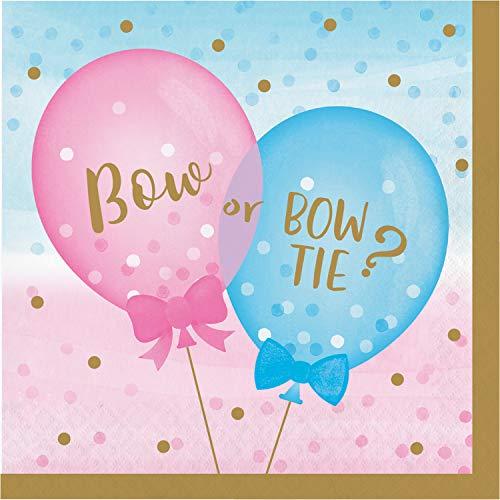 Gender Reveal Balloons Napkins, 48 ct]()