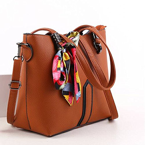 Bag Dhfud Pu Hand Woman Hand Minimalist shoulder Purple BEAqEC