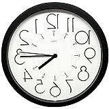 Beauty salon, barber shop is popular ! Clock inversion White.