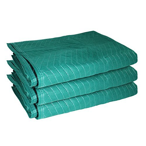 3 pack moving blankets furniture moving blanket moving for Furniture moving pads