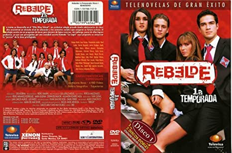 Amazon com: Rebelde 1 a Temporada Disco 1 [DVD]: Anahi
