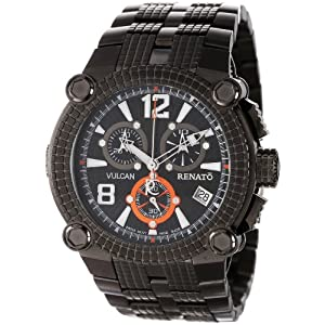 Renato Men's FLG-A-FLG-G10 Vulcan Innovative Multiple Piece Case Design Watch