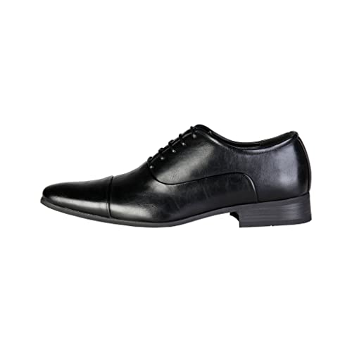 men leather shoes - Mocasines de Otra Piel para hombre negro negro, color negro, talla 44 EU