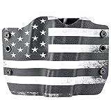Black & White USA Flag OWB Holster