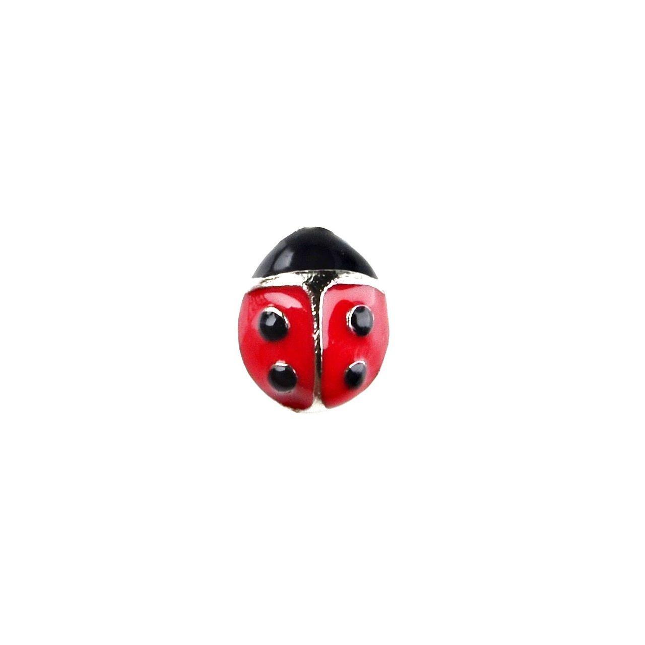 Quality Handcrafts Guaranteed Ladybug Lapel Pin