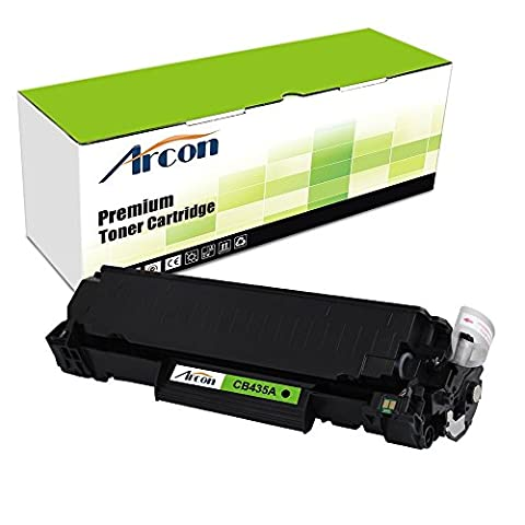 Arcon Compatible Toner Cartridge Replacement for HP CB435A ( Black , 1-Pack ) (Laser Jet P1006 Toner)