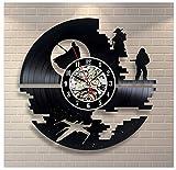 Star Wars Vinyl Record Clock Home Decor Art