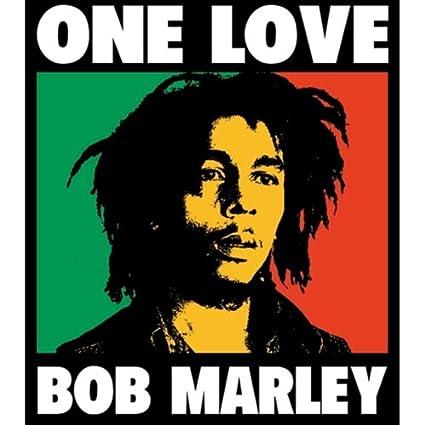 Bob Marley One Love Reggae Vynil Car Sticker