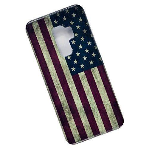 Slim Case for Samsung Galaxy S9 Plus - USA Flag.