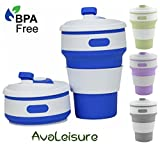 Avaleisure COLLAPSIBLE CUP, a Reusable, 12 oz., BPA-Free...