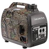 Honda EU2000i Super Quiet 2000W Realtree Camo Portable Generator...
