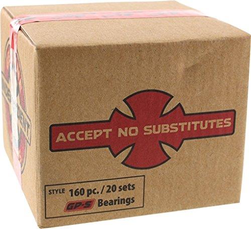 Independent GP-S Bulk 160/Pack Bearings (20 Sets)