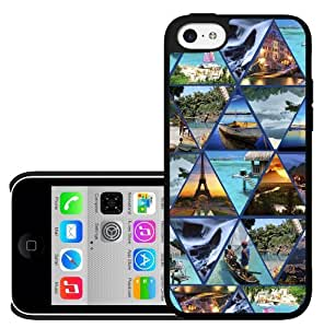 The Best Vacation Locations Collage Hard Snap on Phone Case (iPhone 5c)