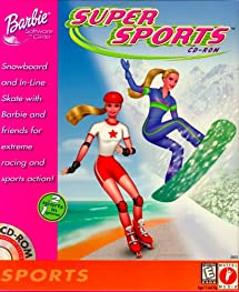 outlet store exclusive shoes best sale Barbie Super Sports - PC: Video Games - Amazon.com