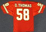 Derrick Thomas Autographed Signed 3x8 Check Kansas City Chiefs - PSA/DNA Authentic