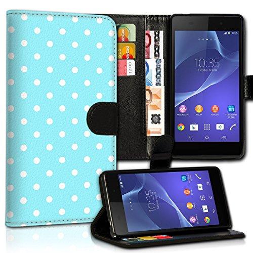 Wallet Book Style Flip Handy Tasche Case Schutz Hülle Schale Motiv Etui für Apple iPhone 6 / 6S - Design Flip MV58
