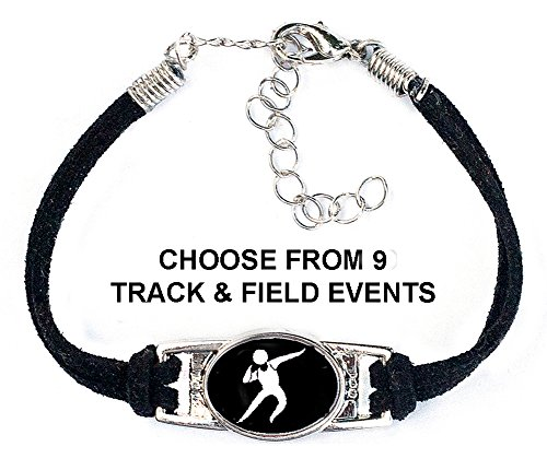 (Choose from 9 Track & Field Events) Includes Shot Put, Running, Long Jump, Pole Vault & Discus Throw Bracelet (Best Track Spikes For Hurdles)