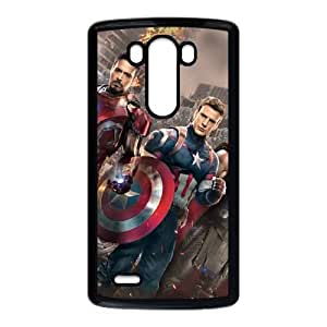 LG G3 Cell Phone Case Black Captain America GVY Hard Design Cell Phone Case