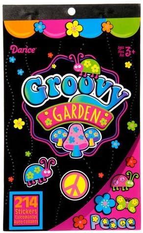 10 Flower Power Large Stickers Rewards Party Favors