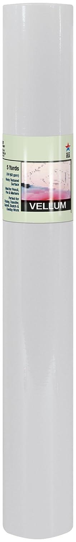 PRO ART SH1956-BKPNK-3XSPro Art 36-Inch by 5-Yards Tracing Vellum Paper Roll