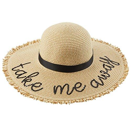 mud pie straw sun hat - 1