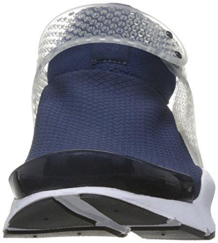 Nike Women's Sock Dart Running Shoes-Navy Blue-8