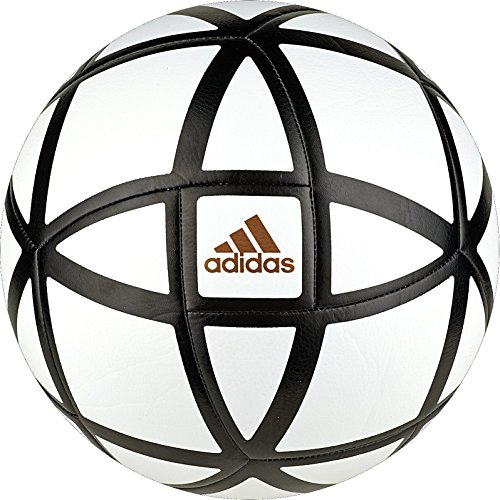 White Official Ball Soccer (adidas Glider Soccer Ball, White/Black, Size 5)