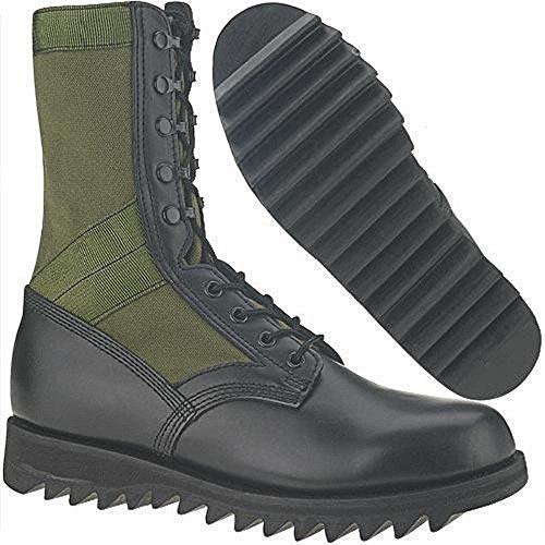 U.S. G.I. Olive Drab Ripple Jungle Boots (5.5R)