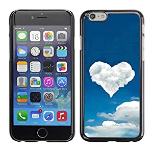 All Phone Most Case / Hard PC Metal piece Shell Slim Cover Protective Case for Apple Iphone 5c Cloud heart