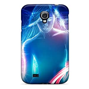 Pretty Mia10385DTgc Galaxy S4 Cases Covers/ Neon Woman 3d Series High Quality Cases Black Friday