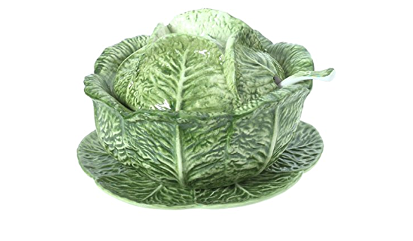 Amazon Com Mierco Italian 4 Piece Ceramic Cabbage Soup Tureen Set Tureens