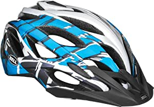 Bell Sequence Bike Helmet - Blue/White Burnout Small