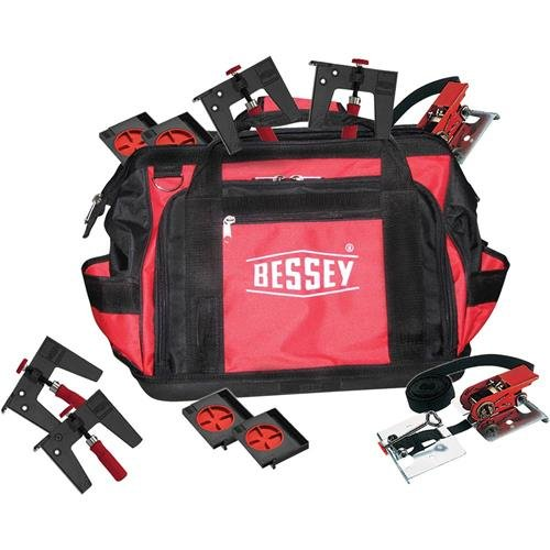 Bessey Flooring Kit Clamp Set, Red/Black