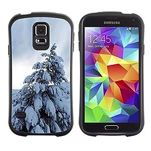 Pulsar iFace Series Tpu silicona Carcasa Funda Case para SAMSUNG Galaxy S5 V / i9600 / SM-G900F / SM-G900M / SM-G900A / SM-G900T / SM-G900W8 , Nature Beautiful Forrest Green 196