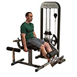 Body-Solid Leg Extension and Leg Curl Machine