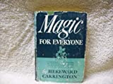 img - for Magic for Everyone w/ Illustrations (1942) book / textbook / text book