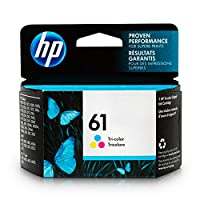 HP 61 Ink Cartridge, Tri-color (CH562WN) for HP Deskjet 1000 1010 1012 1050 1051 1055 1056 1510 1512 1514 1051 2050 2510 2512 2514 2540 2541