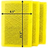 MicroPower Guard Replacement Filter Pads 10x24 Refills (3 Pack)