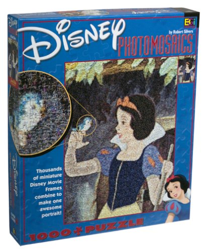 Disney Photomosaic Snow White and the Seven Dwarfs Jigsaw Puzzle ()