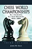 Chess World Championships, James H. Gelo, 0786425687