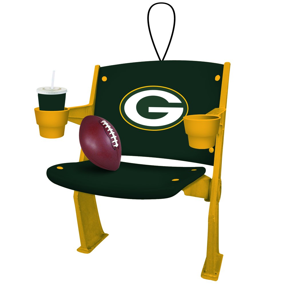 Amazon.com : Green Bay Packers Stadium Chair Ornament : Sports U0026 Outdoors