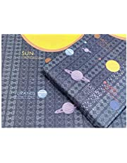 eVincE Gift Wrapping Paper Kids birthday theme party of Solar System | Enjoy planets on wrapped gifts | set of 25 sheets (70 x 50 cms) | Fathers day