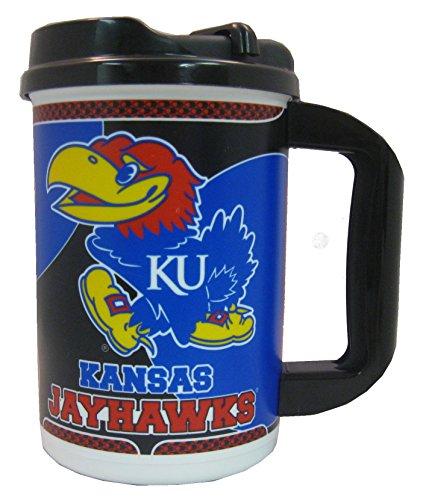 Kansas Jayhawks Travel Mug - 6