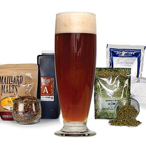 - Festivus Miracle Holiday Amber Ale HomeBrewing Beer Making Recipe Kit - Malt Extract Ingredients For Making 5 Gallons Of Homemade Beer