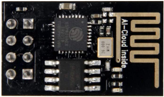 TeOhk ESP8266 ESP-01 Serial WIFI Wireless WLAN WiFi Transceiver Module with 1MB Flash Support LWIP AP+STA for Arduino and Raspberry Pi