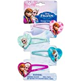 Joy Toy 755076, Fermacapelli Frozen, Confezione da 4