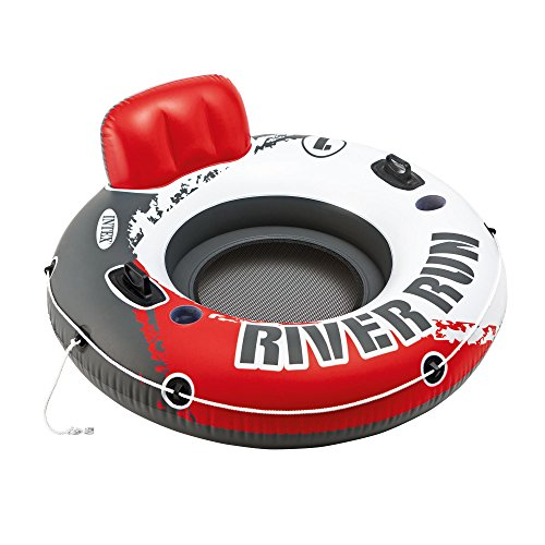 "Intex River Run 1 53"" Inflatable Floating Water Tube Lake Po"